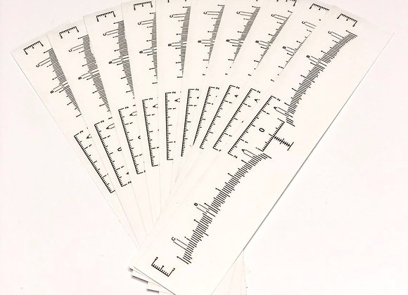 Sticky Rulers (10 Pack)