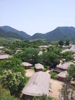 Korean traditional vilage