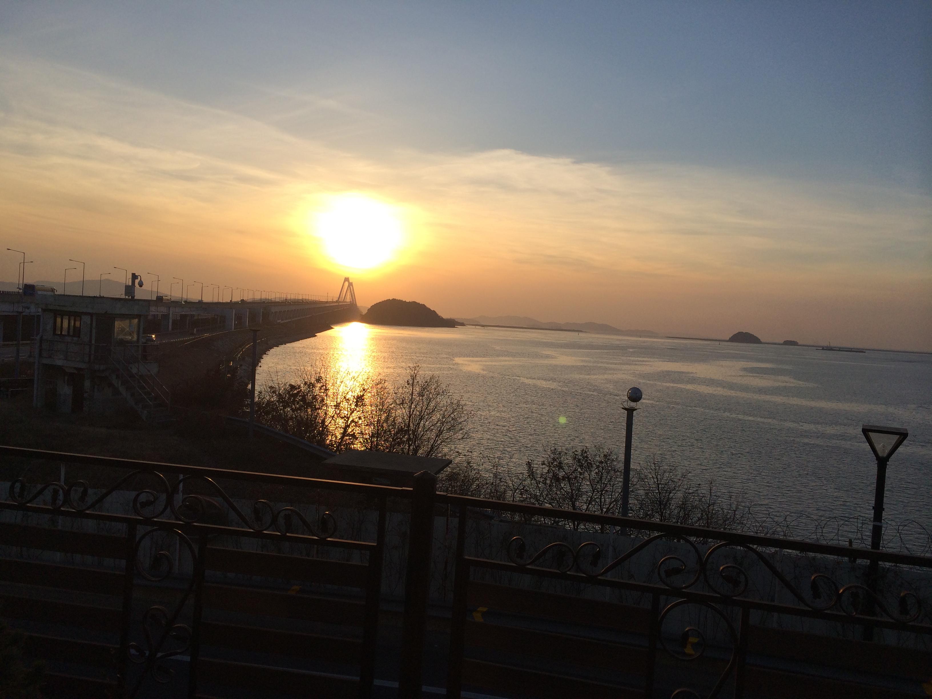 Shabby sunset
