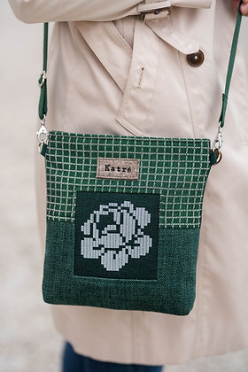ROOSI Green Small Crossbody Bag