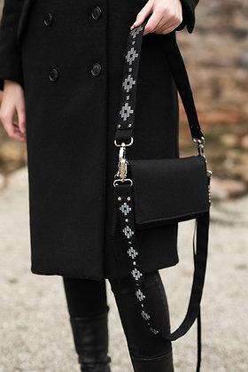 KAARE Reflective Strap SHORT Black - Estonian Glove Pattern