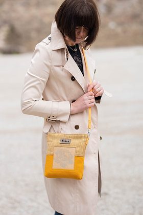 ROOSI Yellow Small Crossbody Bag