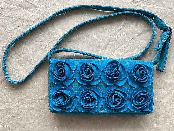 MARIE Turquoise Crossbody Bag