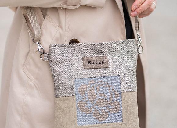 ROOSI Beige Small Crossbody Bag