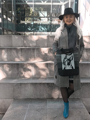 bulldog pixel bag eesti disain õlakott