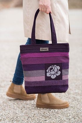 MIRANDA Purple Handbag