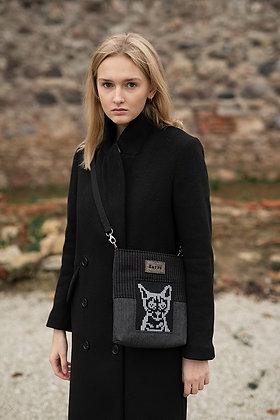 Small CAT Crossbody Bag Negative