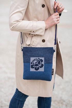 ROOSI Blue Small Crossbody Bag