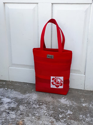 MIRANDA Bright Red Handbag