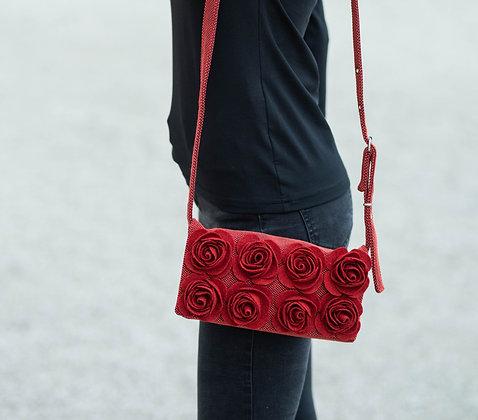 MARIE Red crossbody bag