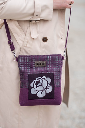 ROOSI Purple Small Crossbody Bag