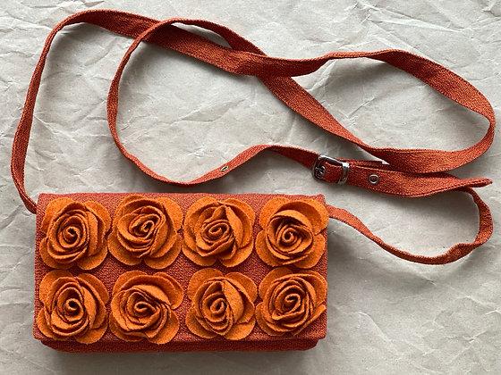 MARIE Orange Crossbody Bag