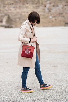 ROOSI Red Small Crossbody Bag