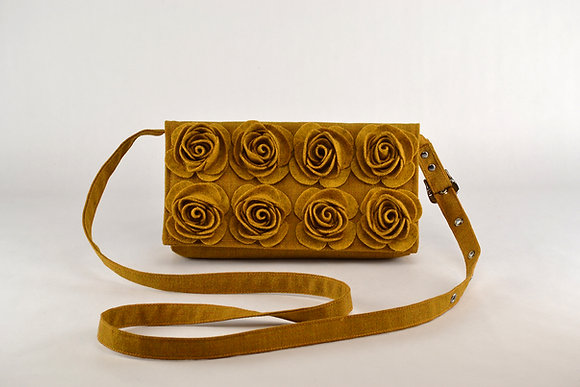 MARIE Mustard crossbody bag