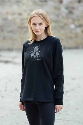 Women's black sweater FLY