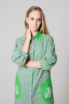 REET Shirt Dress Green