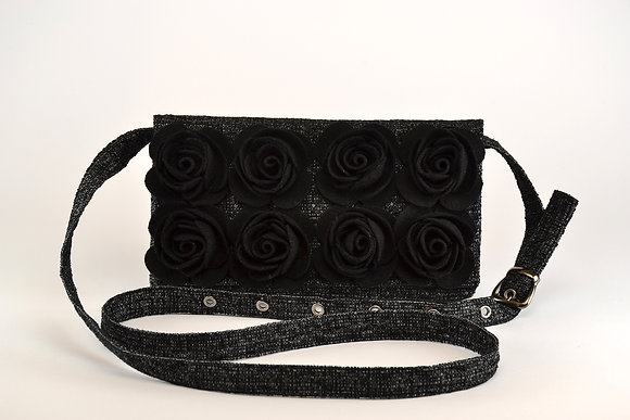 MARIE Black crossbody bag