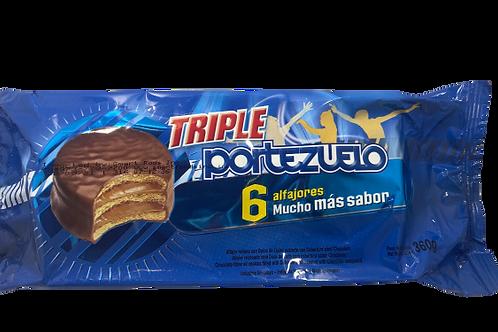 Alfajor Portezuelo Triple