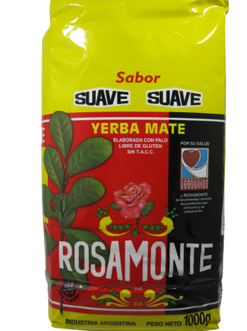 Rosamonte Suave 1kg.