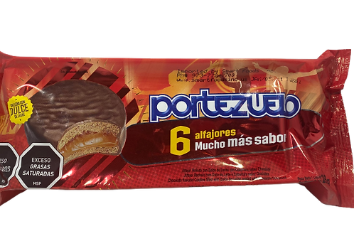 Alfajor Portezuelo chocolate