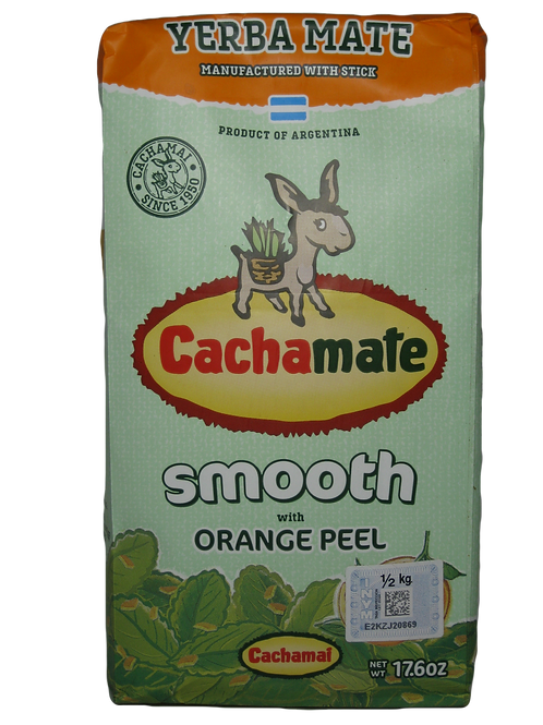 Yerba Cachamate Naranja 500 gr