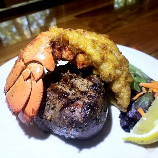 "Need a little ""surf and turf"" in your li"
