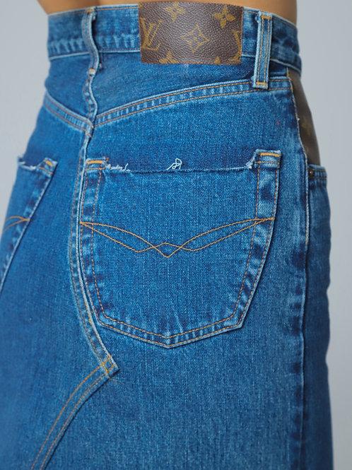Ode's Denim Skirt