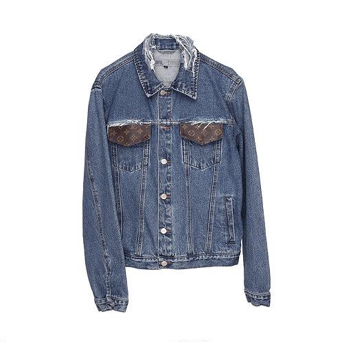 Denim Jacket with LV Details