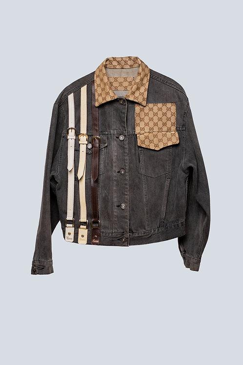 Gucci Accessories On Denim Jacket