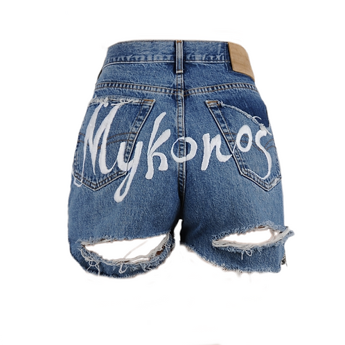 Mykonos Denim Shorts