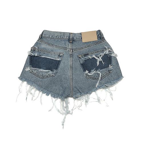 Aria's Denim Shorts