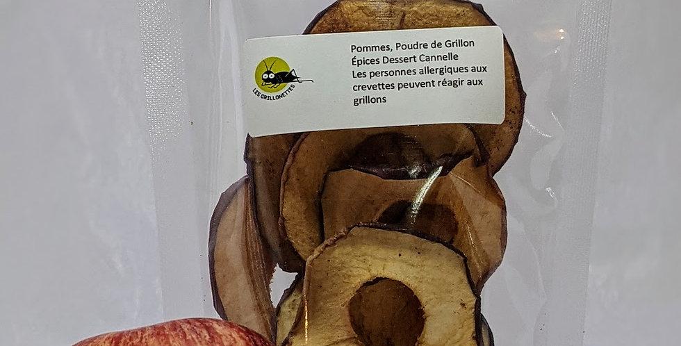 Pommes déshydratées - 35g