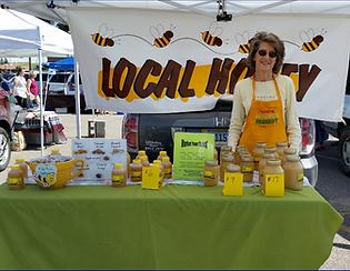 CheyHoney Farmers Market Booth