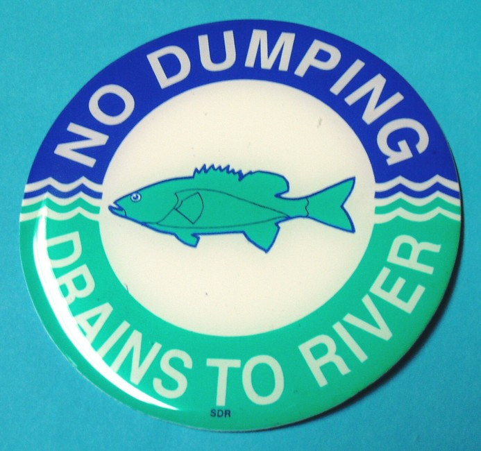 Please don't contaminate our waterways