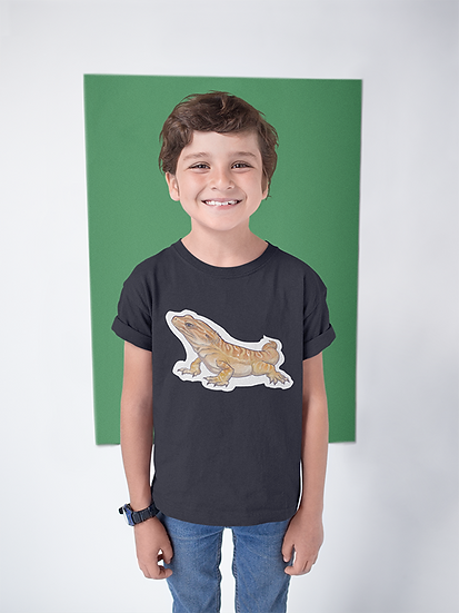 Kids Tee, Bearded Dragon