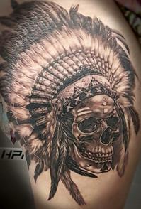 Cherokee Skull