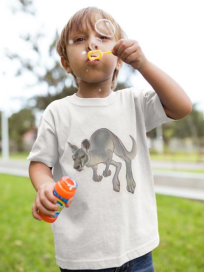 Kids Tee, Kangaroo