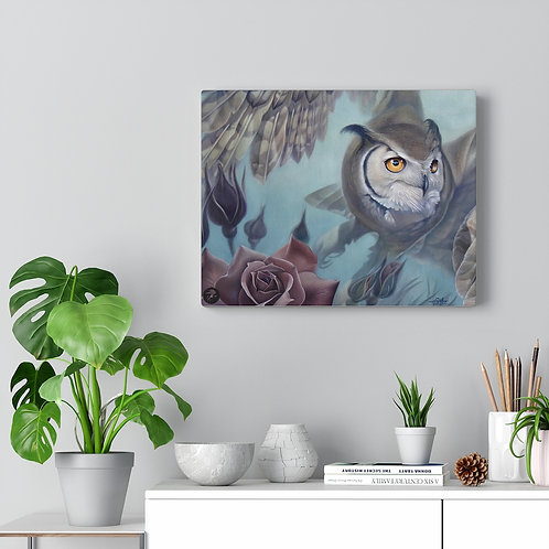 'Rise above' Premium wrapped canvas