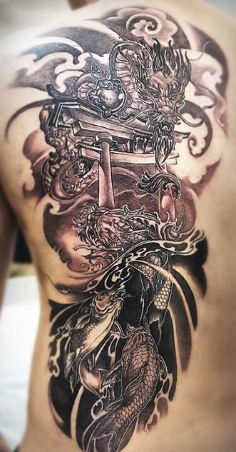 Neo japanese backpiece