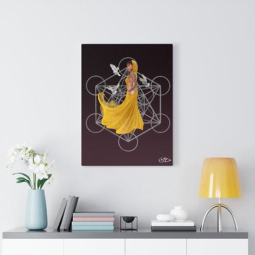 Quantum flow, canvas art print