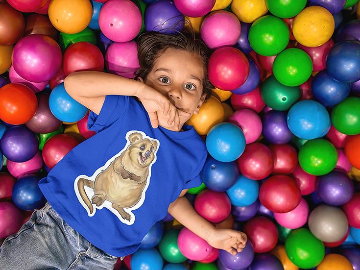 Kids t-shirt, Quokka