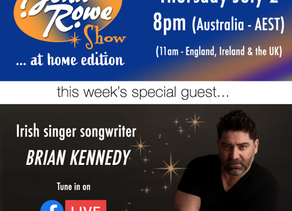 The John Rowe Show…at home edition in Australia