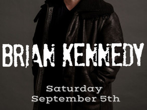 Brian returns to The Theatre Royal, Waterford on Saturday 5th September.