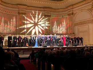 Brian at Carnegie Hall, New York