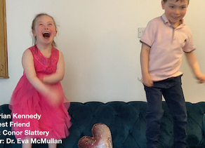 'Best Friend', Stay Safe! With Brian Kennedy and Down Syndrome Cork - International Friendship Day