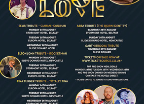 Brian to headline The Younique Festival of Love - Date change!!