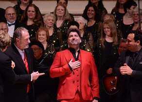 Photos from Brian's debut at Carnegie Hall, New York