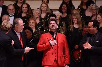 Brian making his debut at Carnegie Hall, New York