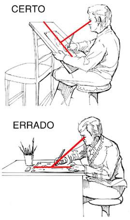 Mesas e Pranchetas de Desenho