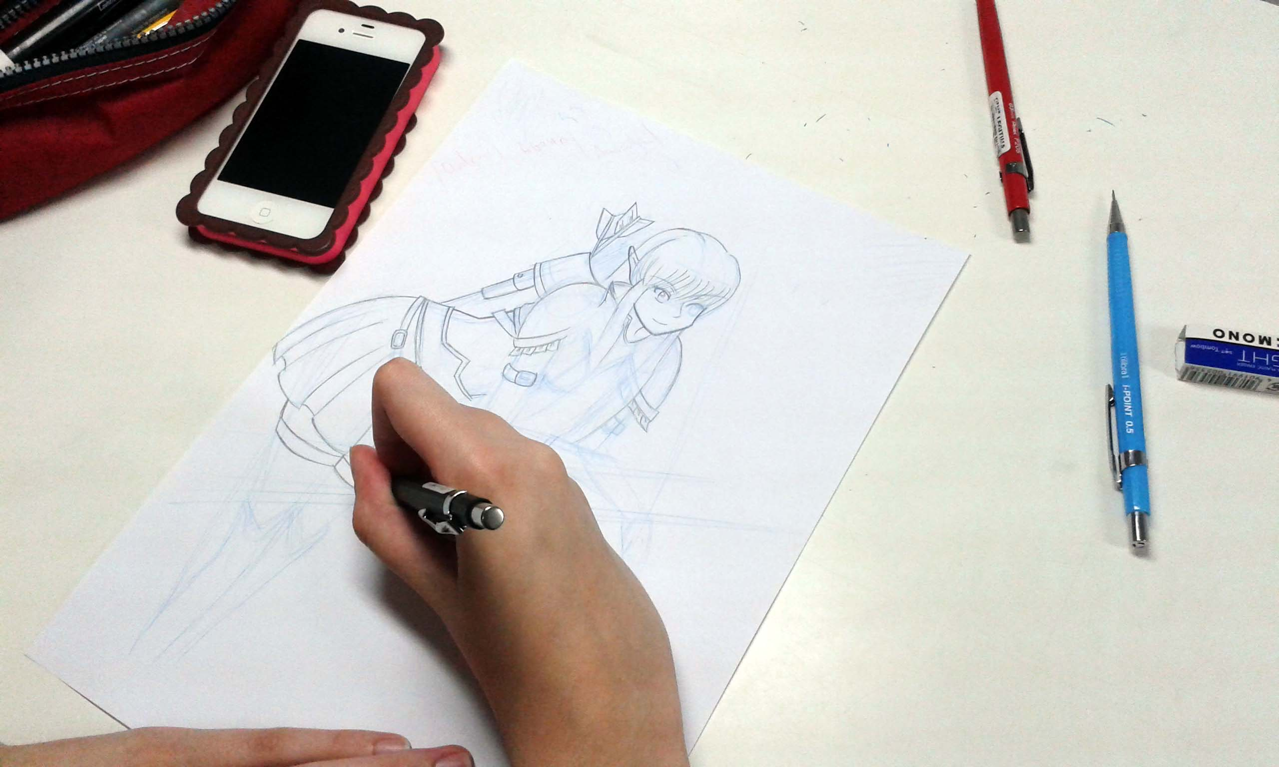 Curso de Desenho - Mangá